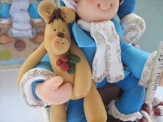 Fimo boy teddy