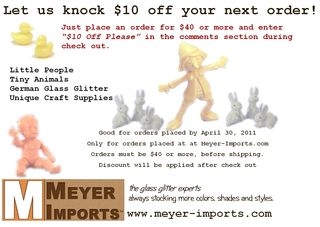 Glitter-coupon