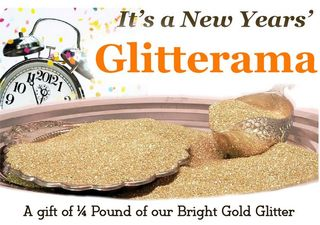 Gift of Gold Glitter-A