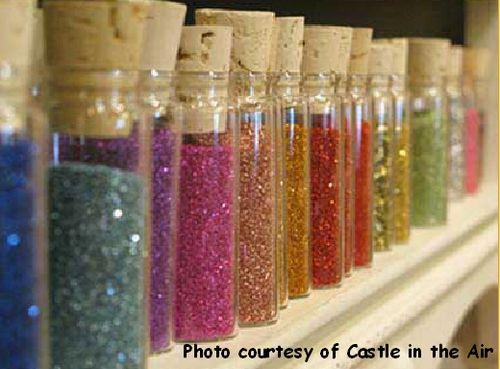 Glitter-castle