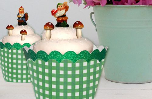 Miniature-Garden-Gnome-Cupcake-toppers-garden-party-1