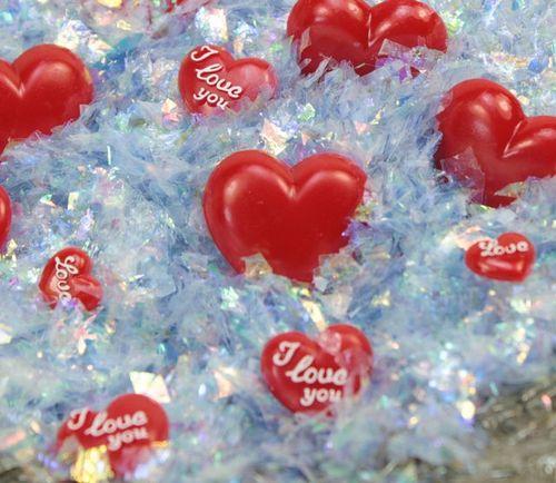 I Love Flatback Hearts - 214-3009 - 06