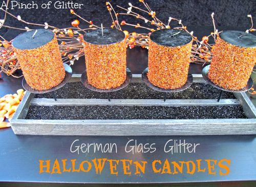 German-glass-glitter-halloween-candles