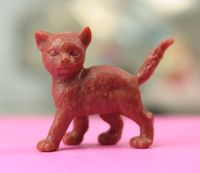 3 Poses Cat - Brown - 201-167-3-BN - 01