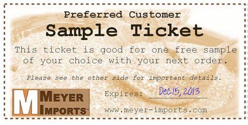 Sample-ticket